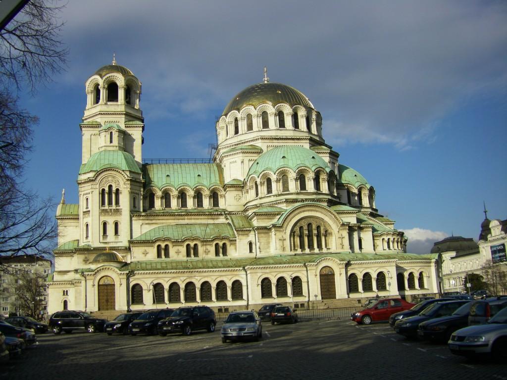 Ето и втора снимка на Храм-Паметник Свети Александър Невски