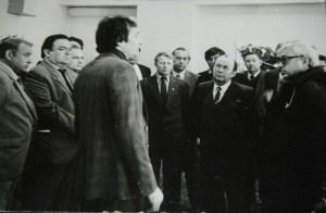 Министър председателите на България и Коми АССР в дома на културата в Благоево